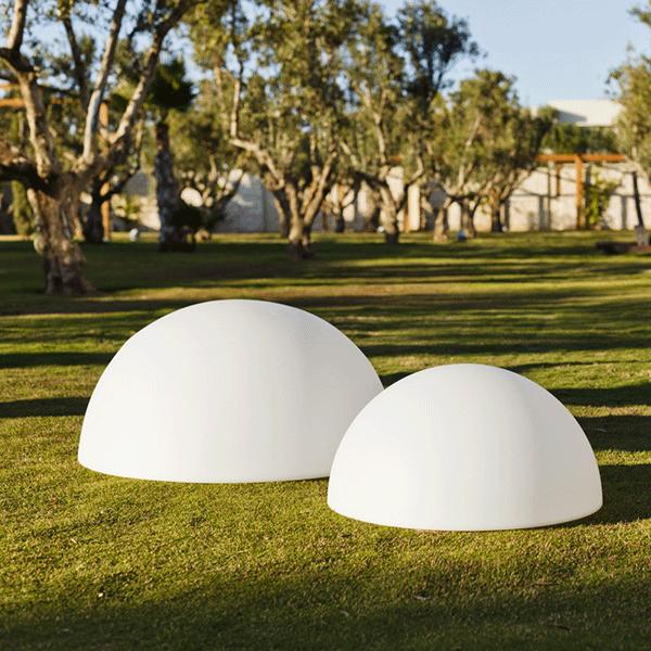 Boule lumineuse demi jardinchic - Boule lumineuse jardin ...
