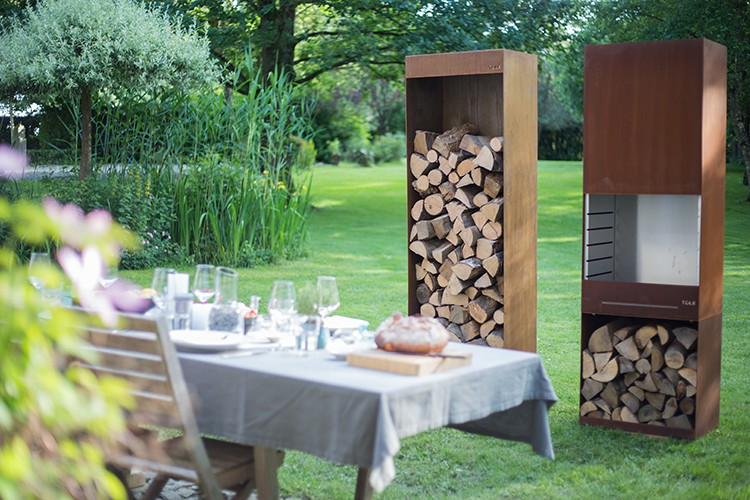 bras ro barbecue k60 jardinchic. Black Bedroom Furniture Sets. Home Design Ideas