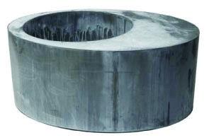 jardini re zinc oval round jardinchic. Black Bedroom Furniture Sets. Home Design Ideas