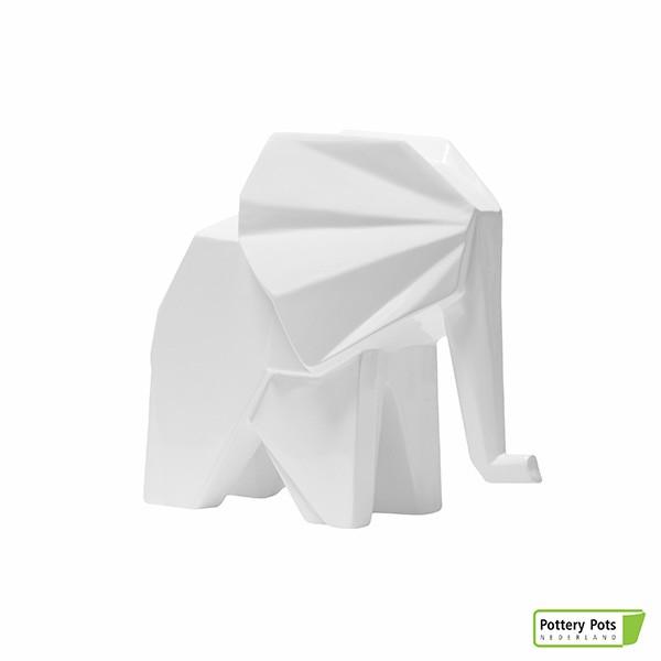 Cache pot éléphant