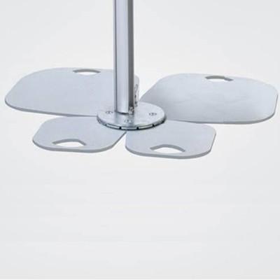 socle pour parasol umbrosa feuilles jardinchic. Black Bedroom Furniture Sets. Home Design Ideas