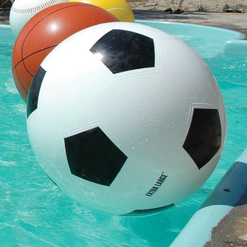 Ballon Football Géant Détouré XLBoom JardinChic