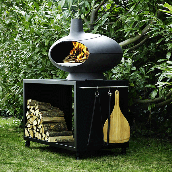 Four pizza bras ro forno jardinchic for Table brasero exterieur