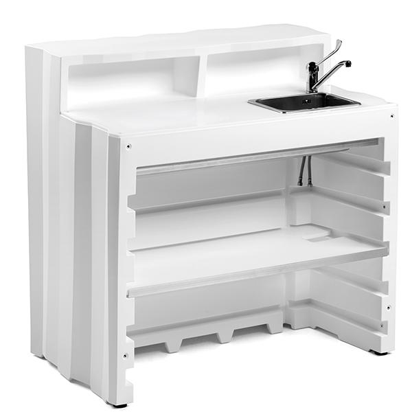 Bar Modulable Frozen Module Linéaire Equipé Version 1 Plust Jardinchic