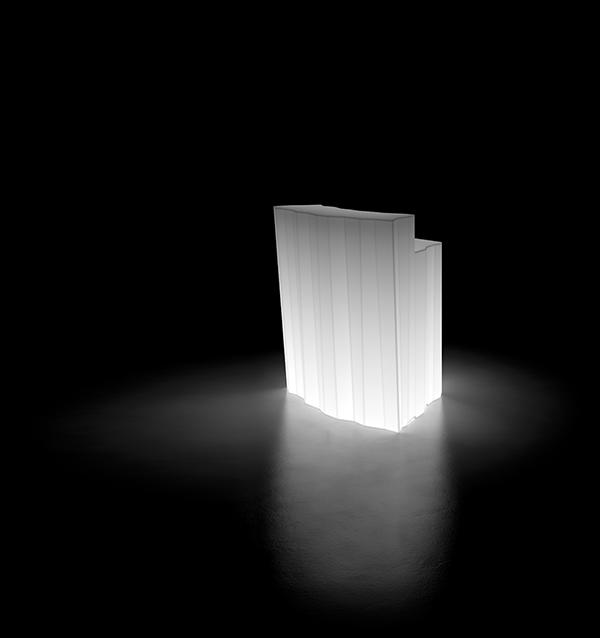 Bar Lumineux Frozen Module d'Angle Plust Jardinchic