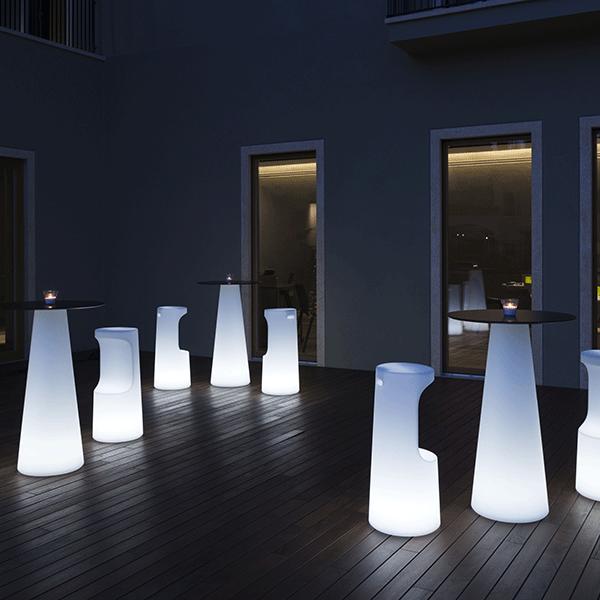 table lumineuse de bar fura jardinchic. Black Bedroom Furniture Sets. Home Design Ideas