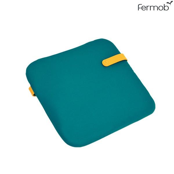 Galette Color Mix 41x38cm Bleu Goa Fermob Jardinchic