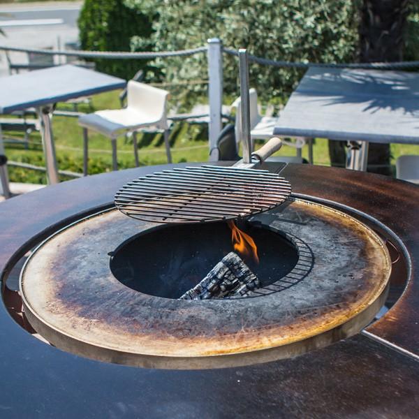 Grille Centrale Réglable pour Fusion Bois Vulx Jardinchic