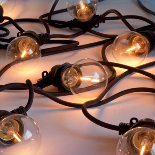 Guirlande Lumineuse Bella Vista Clear Seletti JardinChic