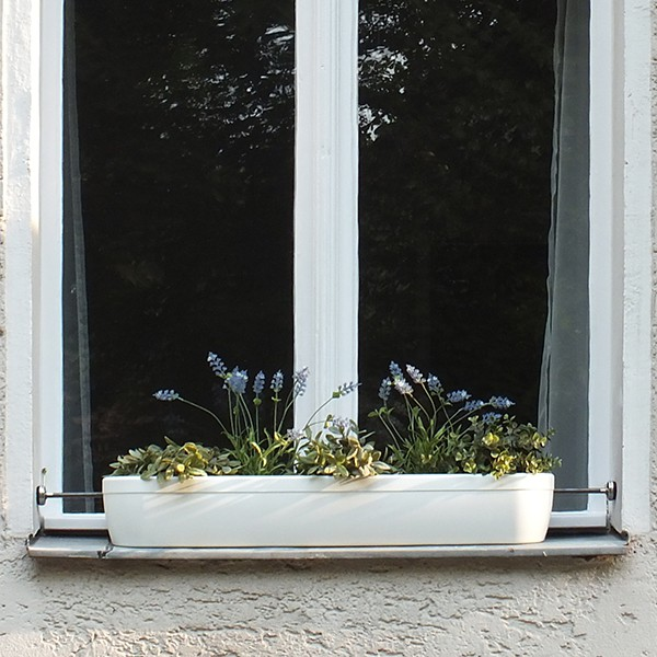Jardini re pour rebord de fen tre windowgreen jardinchic for Support fenetre pour jardiniere