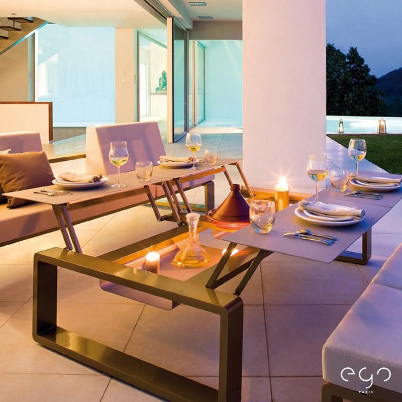 table modulable quattro kama jardinchic. Black Bedroom Furniture Sets. Home Design Ideas