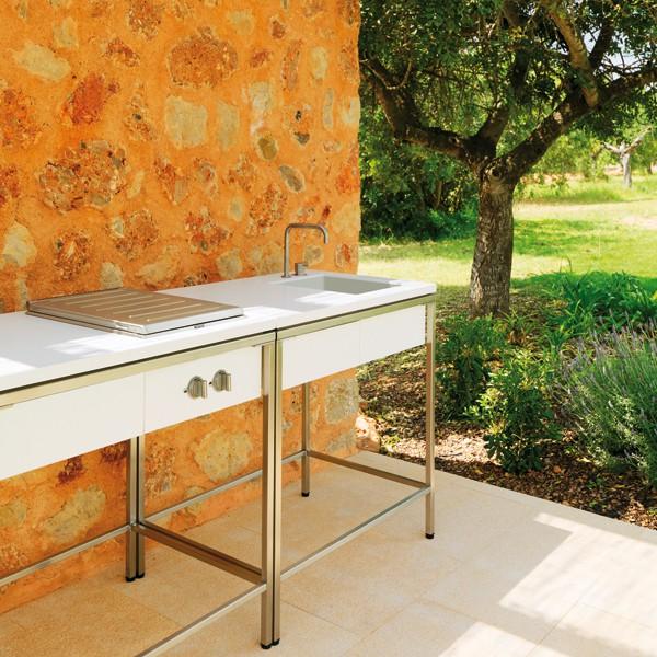 module evier pour cuisine d 39 ext rieur jardinchic. Black Bedroom Furniture Sets. Home Design Ideas
