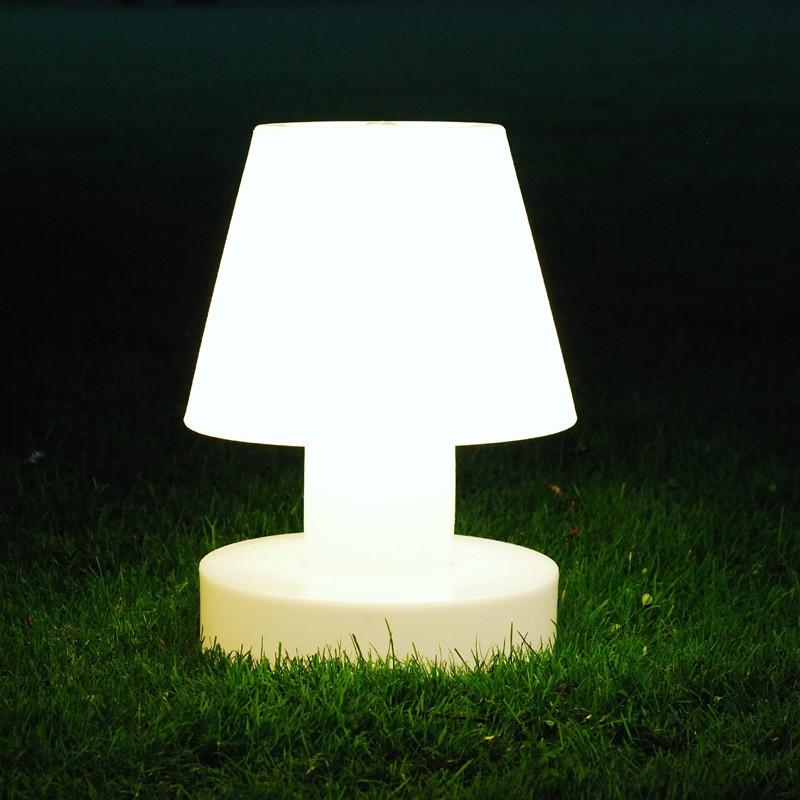 lampe portable avec batterie rechargeable h40cm jardinchic. Black Bedroom Furniture Sets. Home Design Ideas