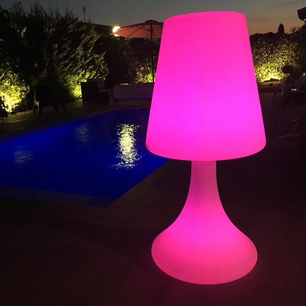 Lampadaire Enceinte Sans Fil Handy Large Light And Sounds Jardinchic