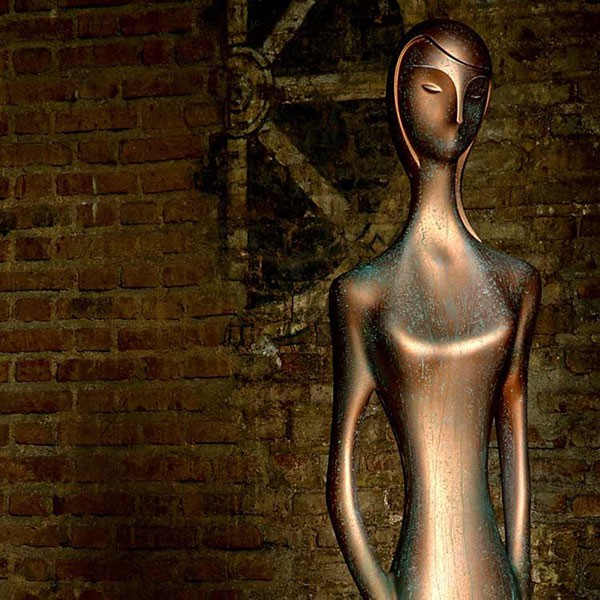 Statue Oxidized Penelope MyYour JardinChic