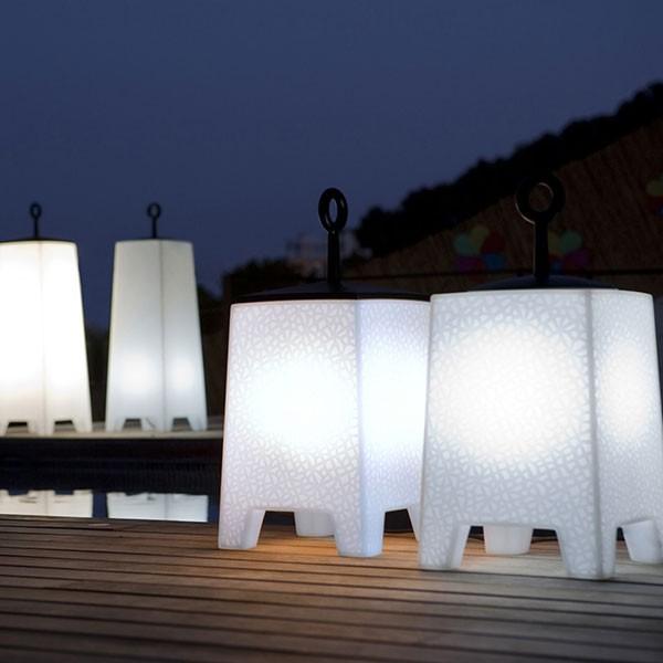Ensemble Lampes à Poser Mora Vondom Jardinchic