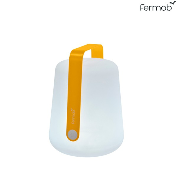 Lampe Balad H25cm Miel Fermob Jardinchic