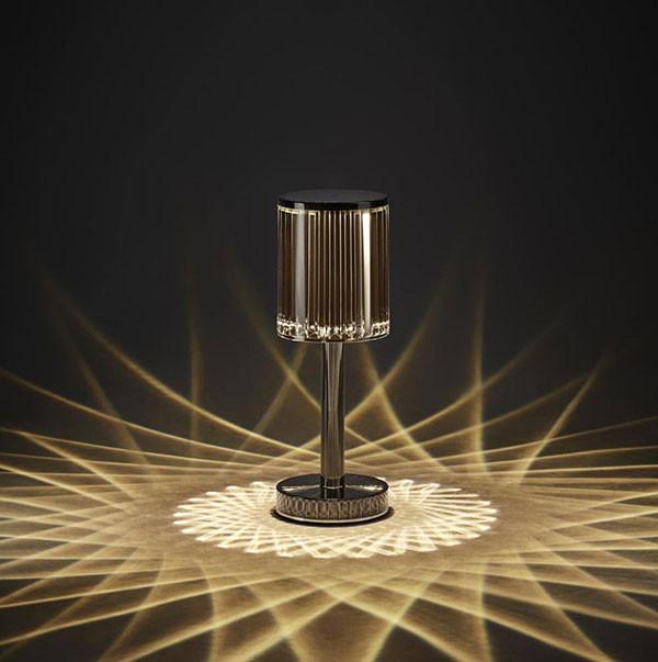 Lampe Gatsby Cylinder Fume Vondom Jardinchic