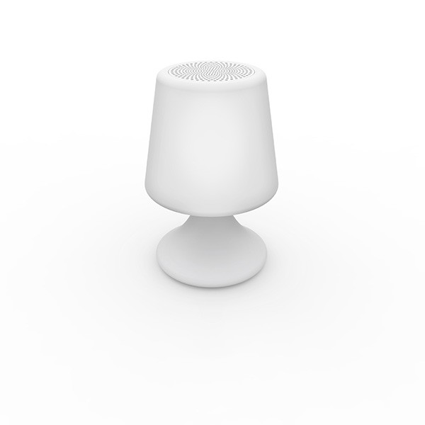 Lampe enceinte handy small jardinchic for Lampe exterieure sans fil