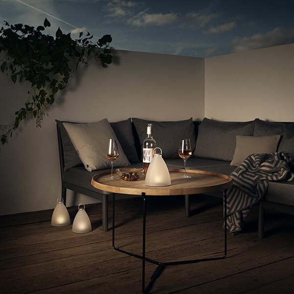 lampe solaire sans fil sunlight bell jardinchic. Black Bedroom Furniture Sets. Home Design Ideas