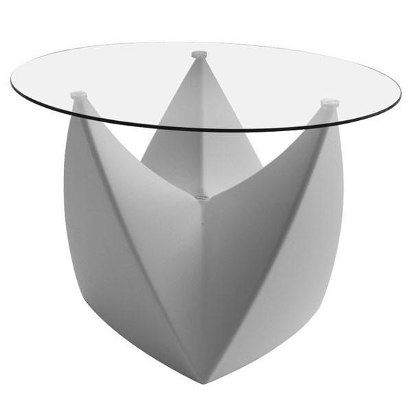 Plateau en verre pour tabouret table basse mr lem for Ventouse pour table basse en verre