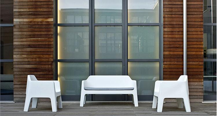 salon de jardin lounge plus air 1 canap 1 fauteuil jardinchic. Black Bedroom Furniture Sets. Home Design Ideas