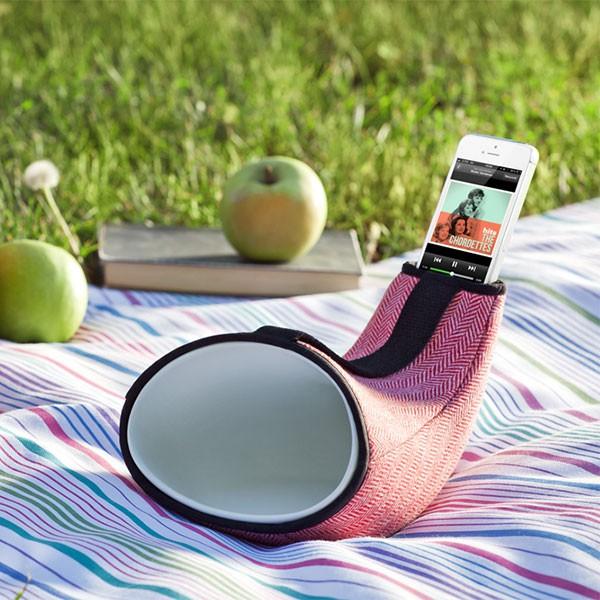 Enceinte Passive Megaphone Mini Vue de Profil En&Is JardinChic