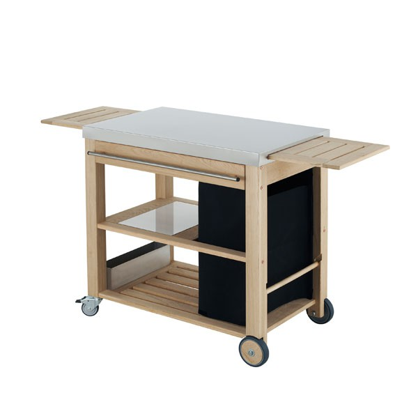 chariot mobilot pour plancha jardinchic. Black Bedroom Furniture Sets. Home Design Ideas