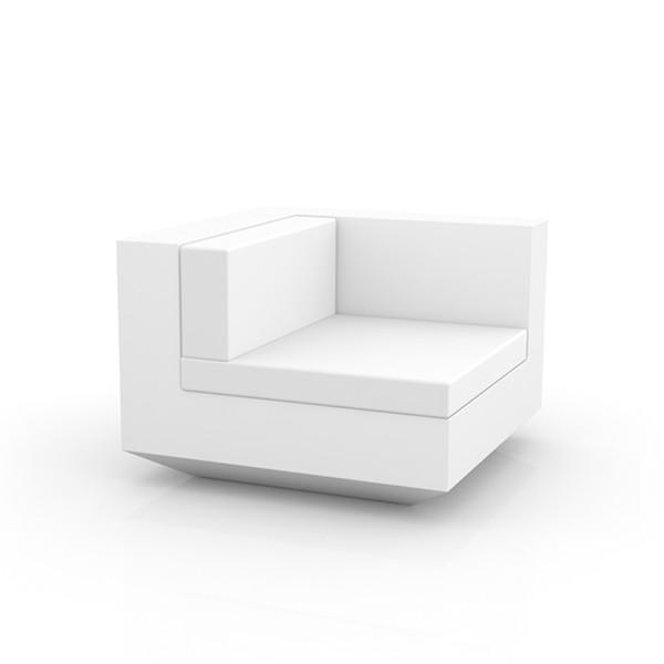 Canapé Modulable Vela - Module Gauche Blanc Vondom Jardinchic