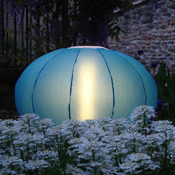 Lampe Oursin Bleu Turquoise Paradedesign Jardinchic