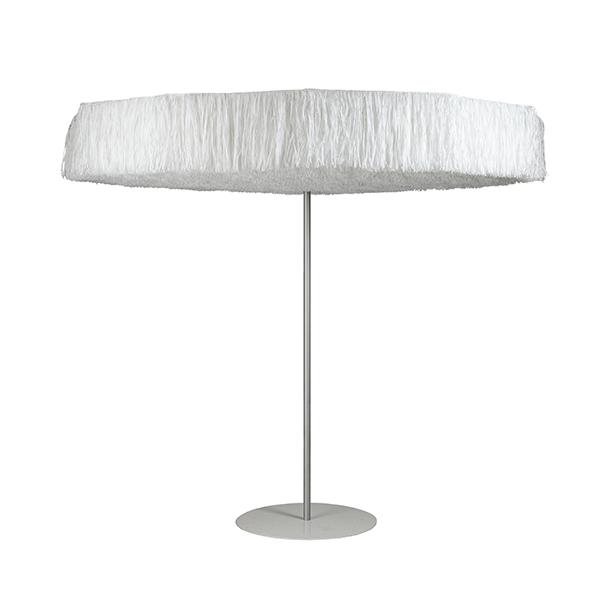 parasol frou frou blanc jardinchic. Black Bedroom Furniture Sets. Home Design Ideas