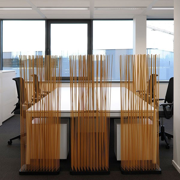 paravent sticks base rectangulaire l60cm jardinchic. Black Bedroom Furniture Sets. Home Design Ideas