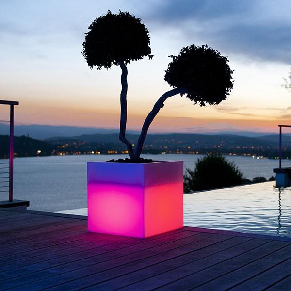 pot lumineux paso jardinchic. Black Bedroom Furniture Sets. Home Design Ideas