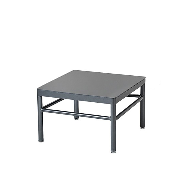 Table Basse Rivage 42,5x42,5cm Anthracite Vlaemynck Jardinchic