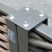 Pièce de Liaison 180° pour Claustra/Panneau Tressage Synthétique Amibance JardinChic