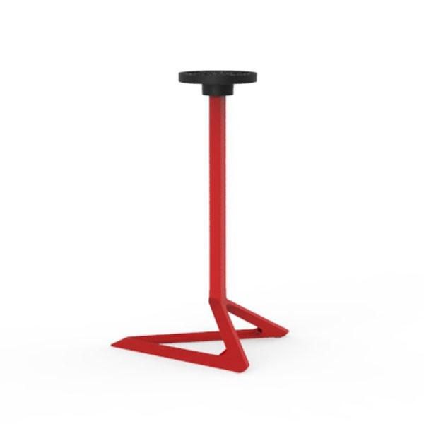 Table avec plateau hpl h73cm delta jardinchic for Table exterieur hpl
