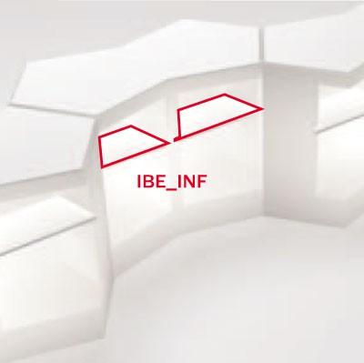 Tablettes Inférieures pour Bar Iceberg Pedrali JardinChic