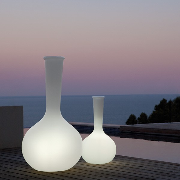 Pot Chemistubes Flask Lumineux Vondom Jardinchic