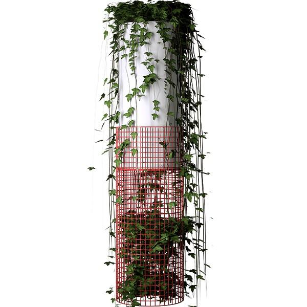 Pot Lumineux / Lampadaire Netlight sur Batterie Serralunga Jardinchic
