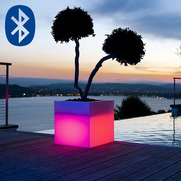 Pot Lumineux Passo Bluetooth® Smart and Green Jardinchic
