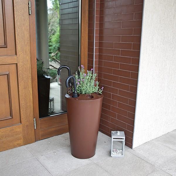 Pot porte parapluie parasolka jardinchic for Porte parapluie exterieur
