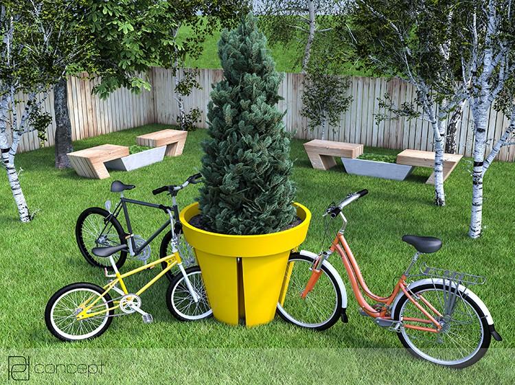 pot range v los bikepot jardinchic. Black Bedroom Furniture Sets. Home Design Ideas