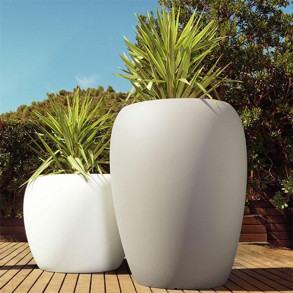 Pots Blow Taupe & Blanc Vondom Jardinchic