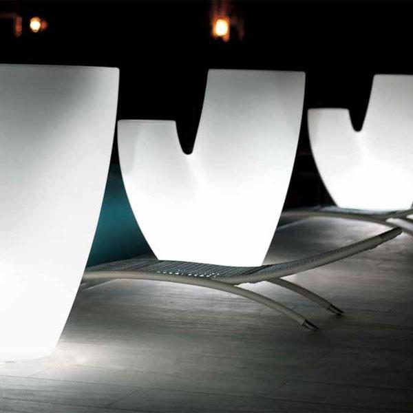 pot sahara lumineux jardinchic. Black Bedroom Furniture Sets. Home Design Ideas