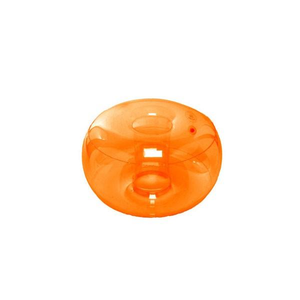 Pouf Gonflable Orange Jardinchic