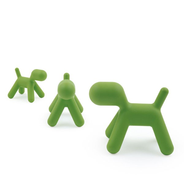 Chaise pour enfant Puppy Vert Me Too Magis Collection JardinChic