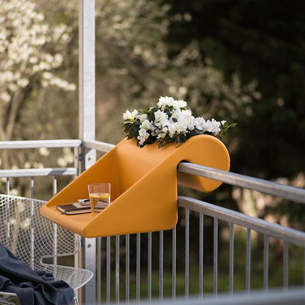 Table d'appoint à suspendre BalKonzept Orange (mango) Rephorm Jardinchic