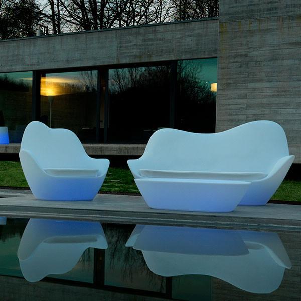 Stunning Salon De Jardin Louisiana Rond Bronze Grosfillex Images ...