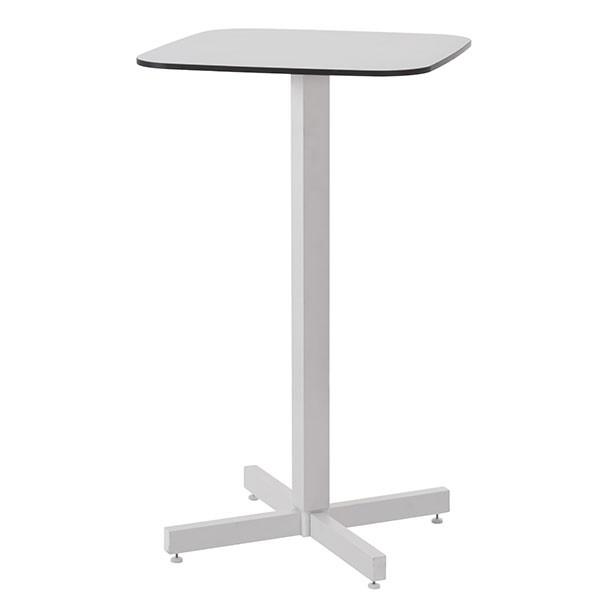 Table Haute Plateau HPL Shine Blanc Cassé Emu JardinChic