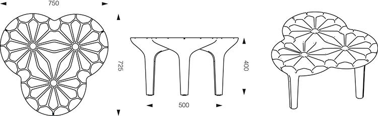 table basse altesse jardinchic. Black Bedroom Furniture Sets. Home Design Ideas